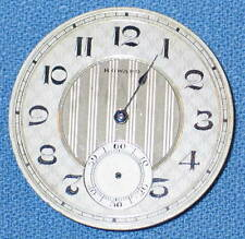 Pocket Watch Movement E.HOWARD WATCH CO. 17 Jewels BOSTON USA for Parts / Repair