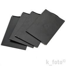 4 x Kassette 9x12 Millionfalz Contessa Nettel, Linhof * 4 x film plate holder