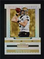 2019 Contenders Winning Ticket Silver #WT-8 Drew Brees /75