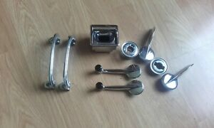 Austin Healey 3000 complete set of handles and winders in excellent condition