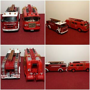 Camions De Pompier 1/43 Ixo Altaya Atlas Solido