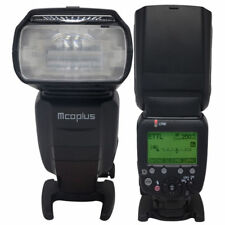 UK Mcoplus Mt600n TTL High Speed Sync 1/8000s Flash Speedlite for Nikon Cameras