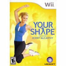 Your Shape Featuring Jenny McCarthy GAME NINTENDO Wii and Wii U **FREE SHIPPING!