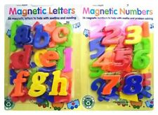 2pc Alphabet Stencil Set Large Small Letters Numbers Kids Childrens Craft 1071