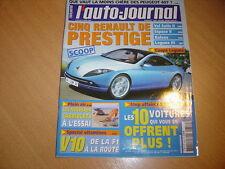 AJ N°653 BMW 120i Luxe.Dossier V10.307 HDi XT Prenium 110 / Megane 1.5 dCi 100