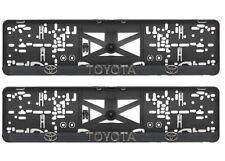 2x Kennzeichenhalter Nummernschildhalter 3D für Toyota