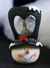 Fun Services Snowman Top Hat Snow Globe