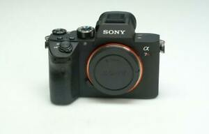 Sony Alpha 7R III 42.4 MP Digital Camera - Black (Body only)