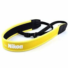 New SLR DSLR Camera Neck Shoulder Strap Belt Vintage for Nikon Yellow