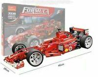 F1 Formula Enzo Technic 8613 F 430 Challenge 726 piece compatible blocks model