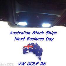 6 x T10 SMD 5050 ULTRA White Interior LED light bulb globe Kit for VW Golf R
