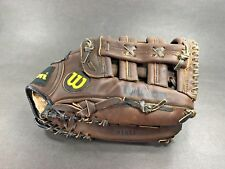 "New listing Vintage Wilson™ ~ STAFF Series Brown Baseball / Softball Glove Mitt ~ 13"" RHT"