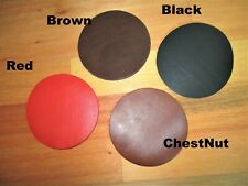 Leather Cup Coaster, Glass Matt, Table Protector. Coasters
