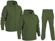 Mens Plain Hooded Sweatshirt | Hoodie Zip Top | Joggers |*Tracksuit