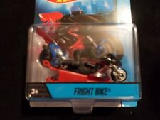 HW HOT WHEELS MOTORCYCLES FRIGHT BIKE HOTWHEELS RED w/REMOVABLE RIDER VHTF RARE