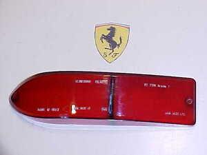 Ferrari 330 Tail Light Lamp Lense Altissimo Red Lens 275 GTS 330 OEM