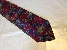 Mens Gray Red Green SILK Tie Necktie SECOURS~ FREE US SHIP (10887)