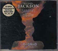 Michael Jackson-Scream the Remixes cd maxi single