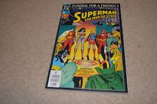 Superman The Man of Steel #20 1993 FNVF Death of Superman / Justice League