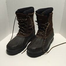 Guide Gear Steel Shank Winter Pac Boots Thinsulate Insulated  Size 14 BROWN
