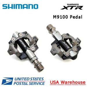 NEW Shimano XTR SPD PD-M9100 Clipless Pedals with SM-SH51 Cleats
