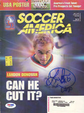 Landon Donovan Autographed Signed Magazine Cover USA PSA/DNA COA Q89383