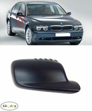 For BMW E46 E65 01-08 Pair Side Door Mirror Glass w//Holder Blue Tinting Durable