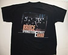 BRUCE SPRINGSTEIN E STREET BAND CONCER T Shirt (Graphic Tee) Black XL Cotton