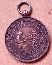 The Poetry Society - Sterling Silver Pendant or Medal - A Real Beauty!