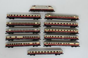 8515/22- Fleischmann Arnold Spur N Personenzug mit Elektrolok