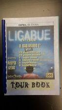 LIGABUE-TOUR BOOK-IL BAR MARIO E' APERTO-RARISSIMO!!!