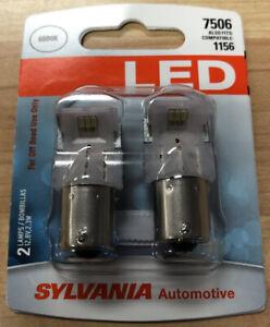Sylvania Automotive 7506 White SYL LED Mini Bulb, Pack of 2  New! Free Shipping!