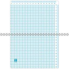 New Flexible Plastic Writing Board with Ruler Markings (Pencil Board) - B5