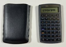 HP 10BII Financial Calculator With Case New Batteries