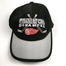 Vintage Starter Detroit Red Wings 1998 Stanley Cup Champions Hat Hook & Loop