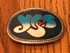 YES BELT BUCKLE         AWESOME!!!