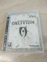 The Elder Scrolls IV Oblivion PlayStation 3 PS3 Bethesda