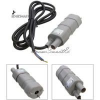 DC 12V Solar Brushless Magnetic Submersible Water Pump 5M 600L/H Fish JT-500