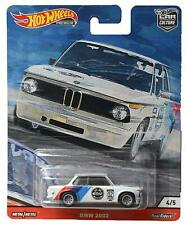 Diecast Car - Hot Wheels - BMW 2002 4/5 White Toys 815856 New