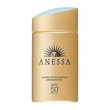 Shiseido Anessa UV Sunscreen Skincare Milk Spf50 PA 60ml Japan