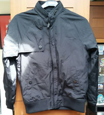 tMens Ben Sherman Bomber Jacket In Black- Zip- Ribbed Cuffs in Size S