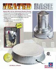 Farm Innovators HP-125 Heated Base for Metal Poultry Founts, 125-Watt