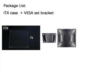 PC Open Frame Test Bench  Motherboard Transparent Acrylic ITX + VESA MOUNTS NEW