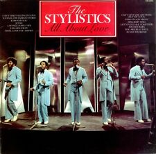 THE STYLISTICS All About Love 1981 UK Vinyl LP Record EXCELLENT CONDITION