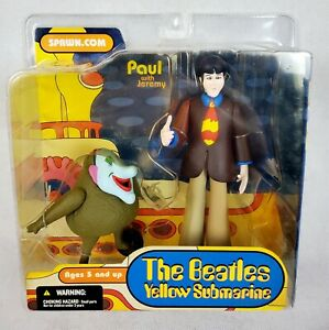 MCFARLANE THE BEATLES YELLOW SUBMARINE PAUL with Jeremy ACTION FIGURE 2004