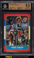 1986 Fleer Basketball Dennis Johnson #50 BGS 9.5 GEM MINT