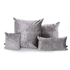 Cojines decorativos de color principal plata de terciopelo para el hogar