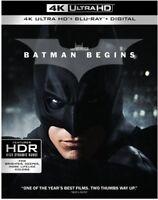 Batman Begins [New 4K UHD Blu-ray] 4K Mastering