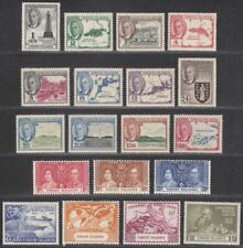 British Virgin Islands 1952 King George VI Set Mint SG136-147 cat £50
