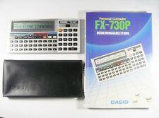 Casio fx 730p pocketcomputer Basic 8 Kbytes muy bien conservados #105